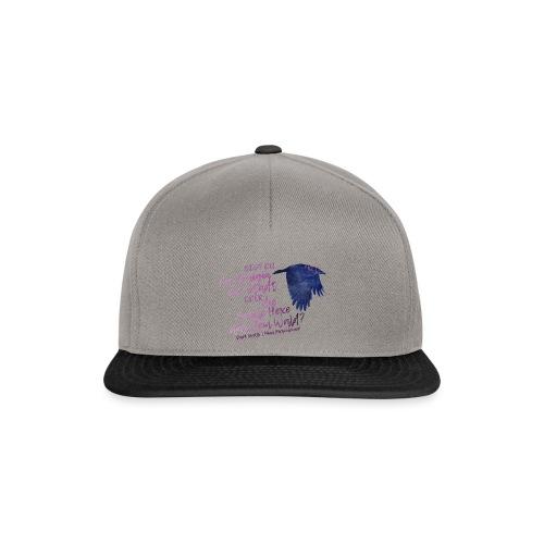 Dark Spells-Krähe - Snapback Cap