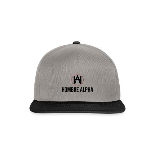 Hombre Alpha Logo - Gorra Snapback