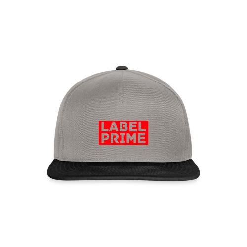 LABEL - Prime Design - Snapback Cap