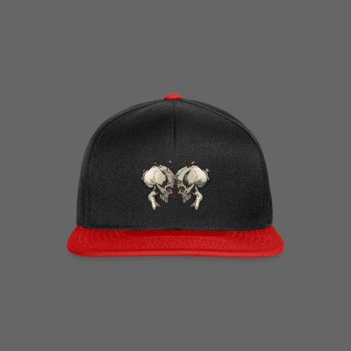 MHF_Logo_Loose-Skulls - Snapback Cap