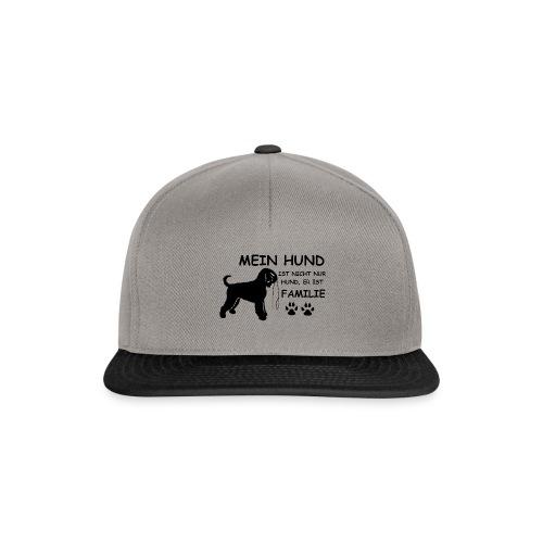 Mein_Hund_ist_Familie - Snapback Cap