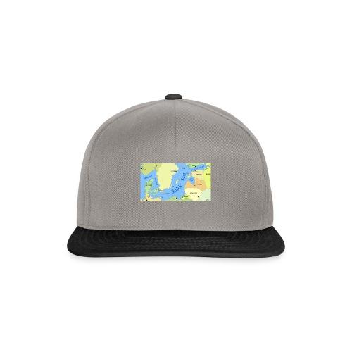 Baltic Sea Map - Snapback Cap