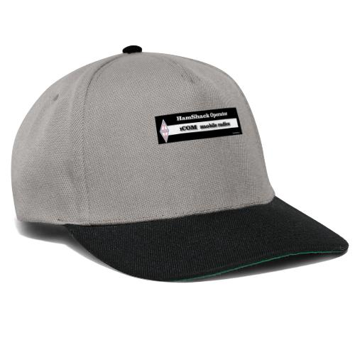 Tshirt Back Text iCOM Mob - Snapback Cap