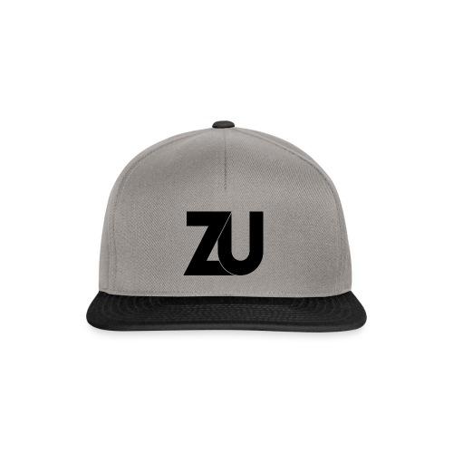 ZU Black png - Snapback cap