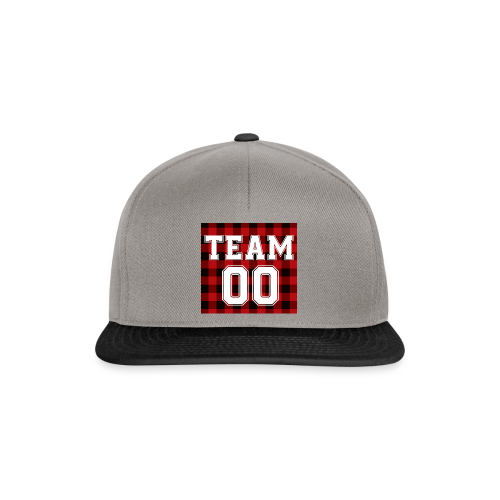 TEAM 00 T-shirt White - Snapback cap