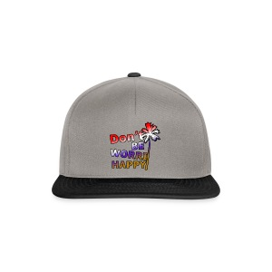 Don't be worri happy - Heren Shirt - Snapback cap