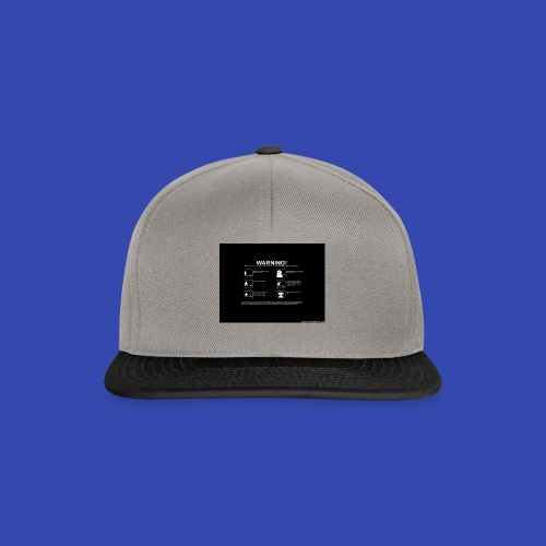 Warning - Snapback Cap