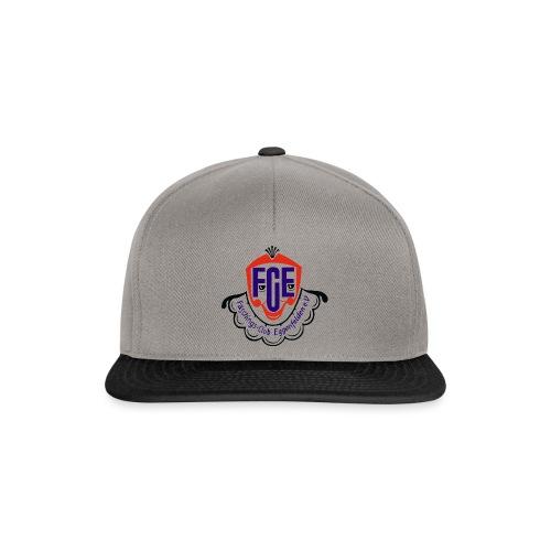 FCE Logo farbig hochauflösend ohne Hintergrund - Snapback Cap