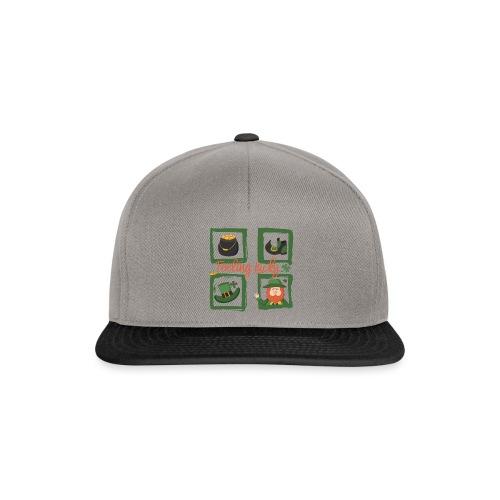 Be happy - feeling lucky St. Patricks day - Snapback Cap