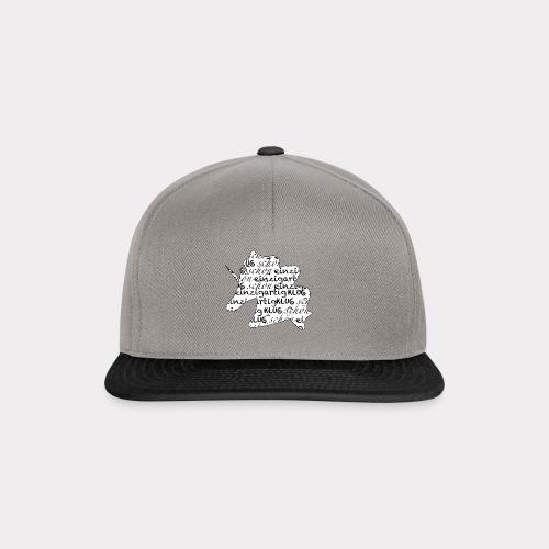 Einzigartiges schönes Einhorn - Snapback Cap