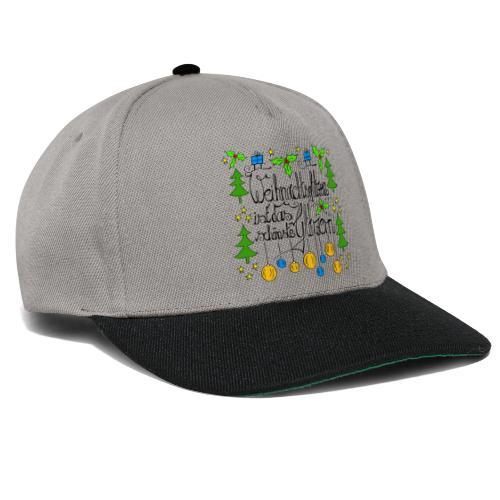 Weihnachtsglitzern - Snapback Cap