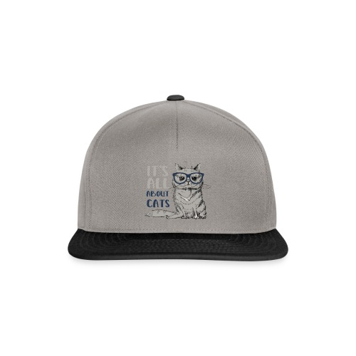 Coole Katze: It's All About Cats - Snapback Cap
