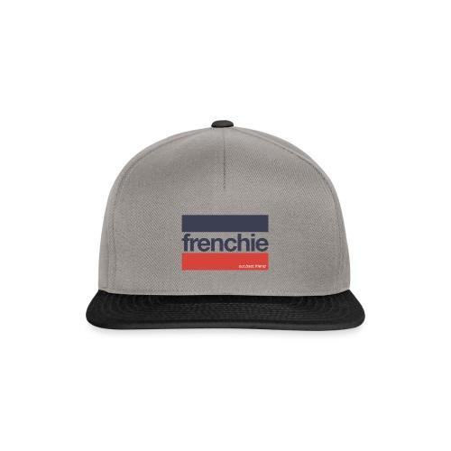 Frenchie Stripes - Französische Bulldogge - Snapback Cap