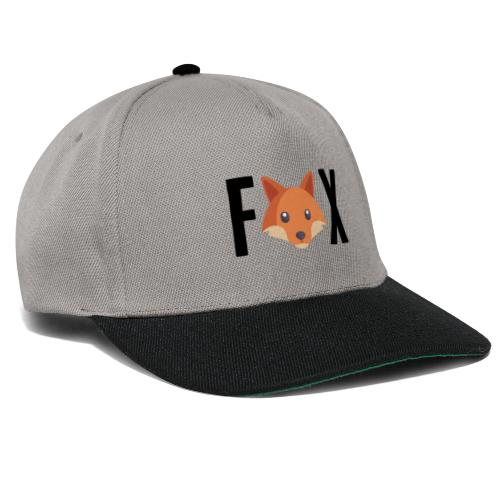 FoxFox | Logo - Snapback Cap