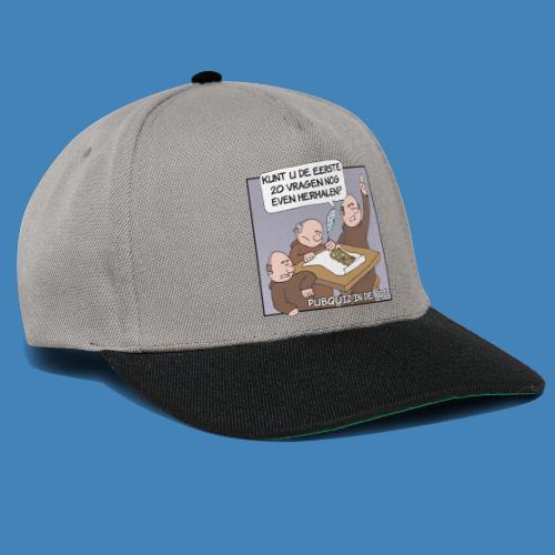 Pubquiz in de Abdij - Snapback cap