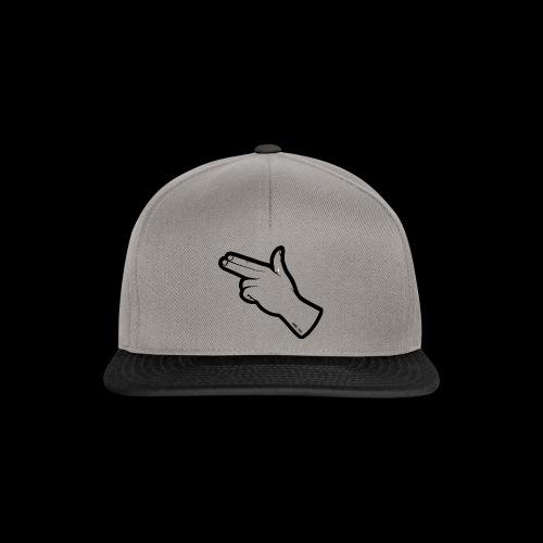 Gunfingers Black - Snapback Cap