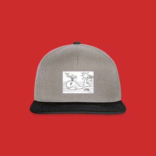 disegno_balenotta_da_colorare-jpg - Snapback Cap