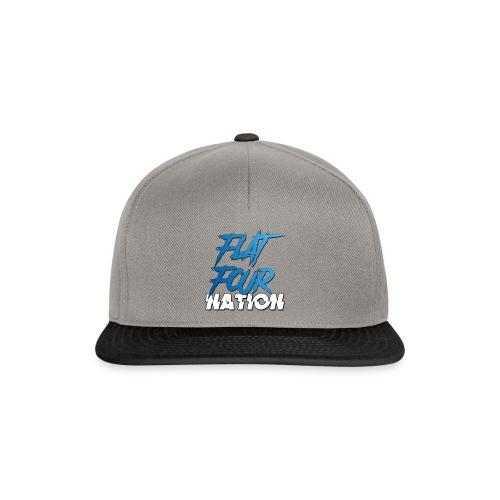 Flat Four Nation - Snapback Cap