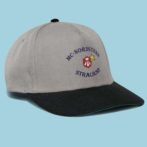 MC Nordstern Schrift gebogen - Snapback Cap