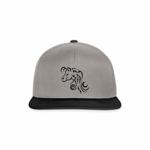 Mare, clean tribal design - Snapback Cap