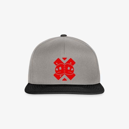 NO.DOLLS! Logo - Design #1 RED - Gorra Snapback