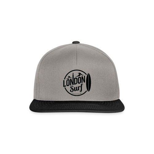 London Surf - Black - Snapback Cap