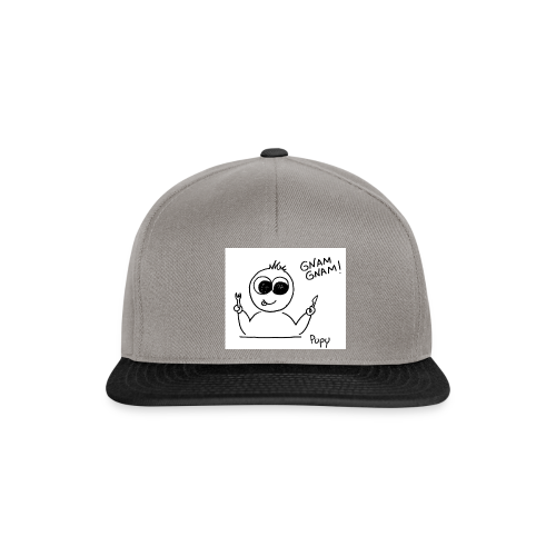 Pupy: gnam gnam! - boy - Snapback Cap
