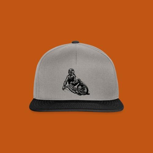 BMX / Mountain Biker 03_schwarz - Snapback Cap