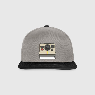 Polaroid Kamera - Snapback Cap