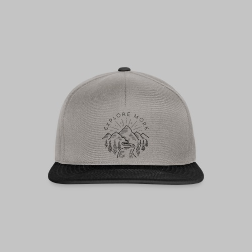 Explore more - Snapback Cap
