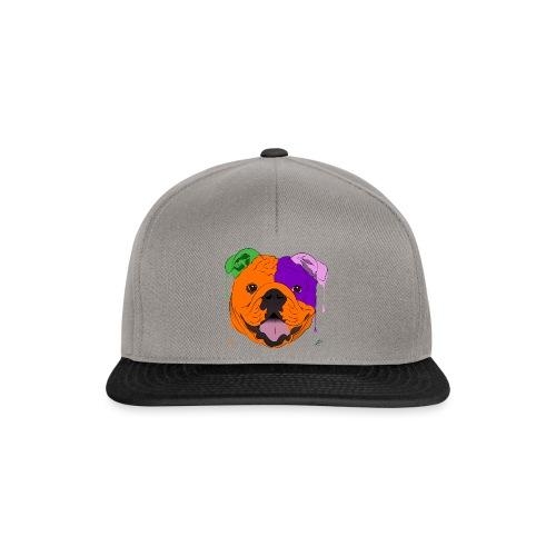Bulldog - Snapback Cap