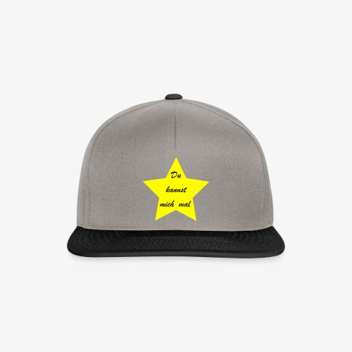 Du kannst mich mal - Snapback Cap