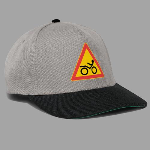 Traffic sign Recumbent - Snapback Cap