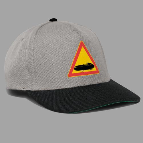 Traffic sign velomobile - Snapback Cap