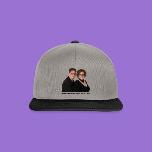 Klara und Bernhard Portrait - Snapback Cap