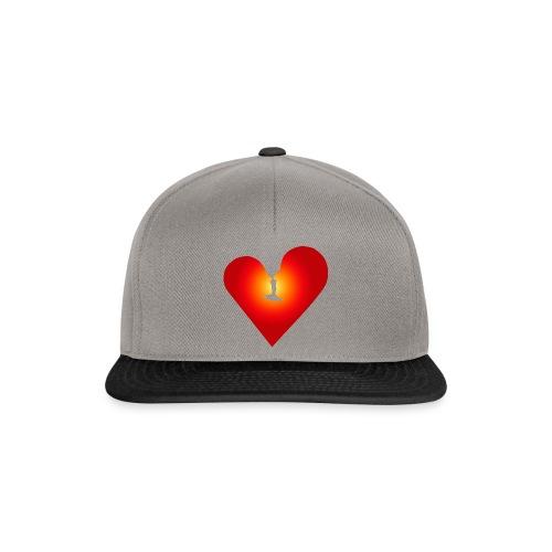 Ein Herz in Liebe - Snapback Cap