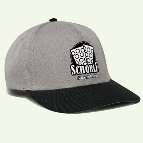 Schorle is my Motoroil Dubbeglaeser - Snapback Cap