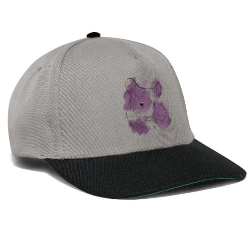Violet splash chinchilla - Snapback Cap