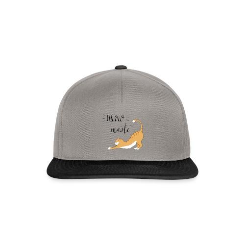 Meowmaste - Snapback Cap