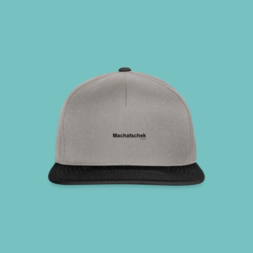 Machatschek - Snapback Cap