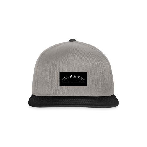 SkyHunter Logo Black - Snapback Cap