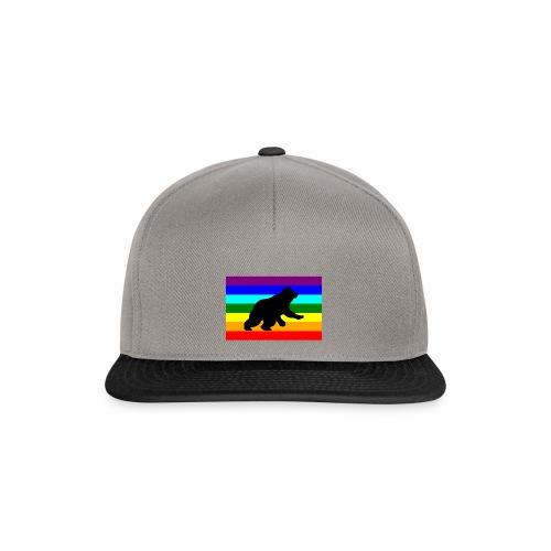 Orso libero in piedi - Snapback Cap