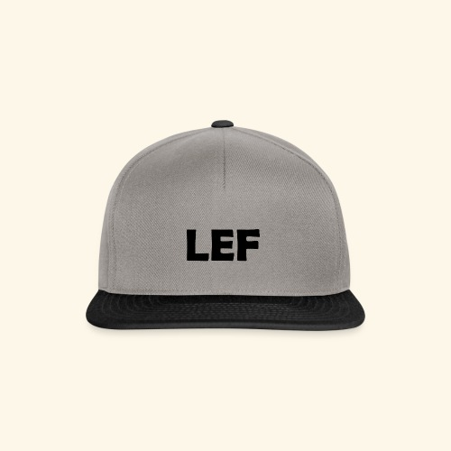 LEF - Snapback cap