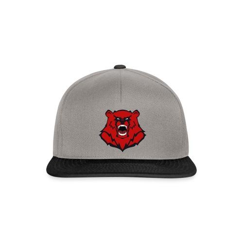 Tasche mit Bärenlogo - Snapback Cap