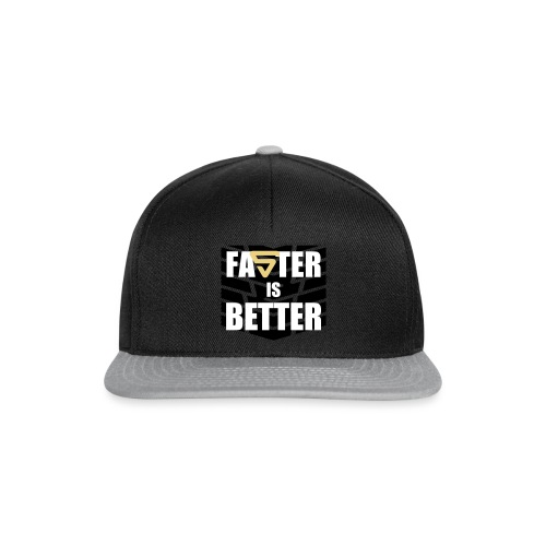 Faster is Better - Casquette snapback