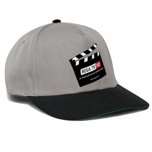 REGA-TV: Klappe - Snapback Cap