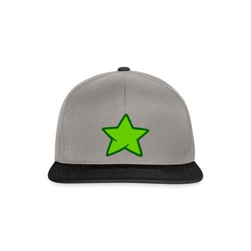 Estrella verde - Gorra Snapback