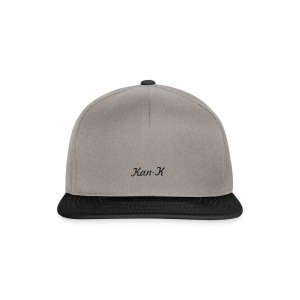 Kan-K text merch - Snapback Cap