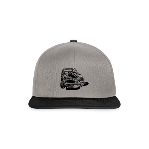 car crash - Casquette snapback