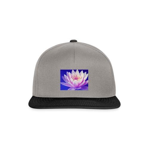 fleurs lotus - Casquette snapback